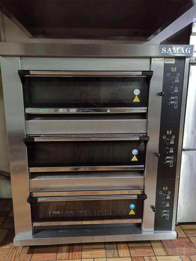 面包店厨房设备三层六盘电烤箱