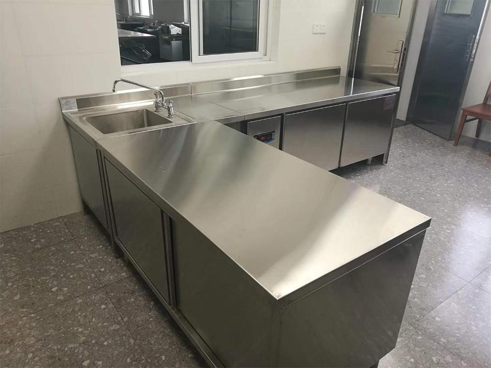 不锈钢厨房设备不锈钢双通打荷台